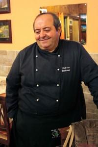 Lo chef lucano Federico Valicenti dell'Osteria Luna Rossa.
