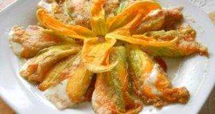fiori di zucca ripieni - saporilucani