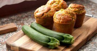 Muffins-con-zucchine-e-mozzarella - saporilucani