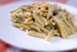 Pasta ai funghi e fiori di zucca - saporilucani