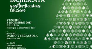 Albero di natale Tito 2017 - Sapori lucani