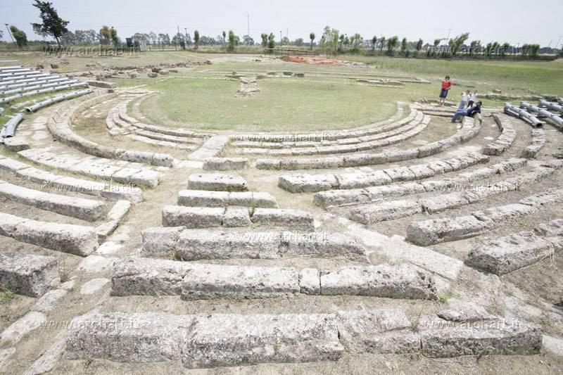 Metaponto-Parco archeologico, teatro greco